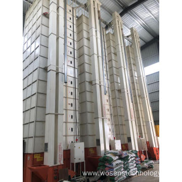 Auto ricemill grain dryer with grain suction machine