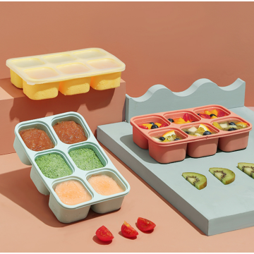 Freezer & Stackable Baby Food Storage for Infant