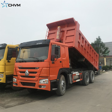 HOWO Used Dump Tipper Truck With Good Quality