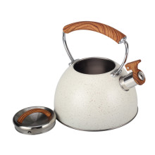 Heat Resistant Wooden Handle Whistling Kettle