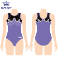 Sleeveless mesh adult leotards