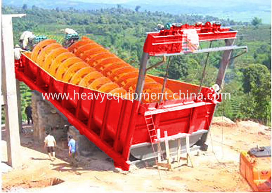 Integrated Sand Washer