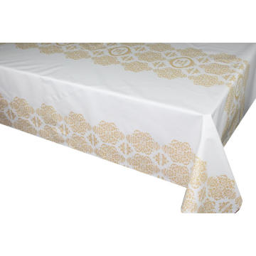 Pvc Printed fitted table covers Table Linens Vancouver