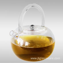 New Product 800ML Glass Teapot With Infuser