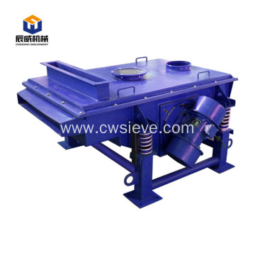 high capacity linear small wood chip vibration screen