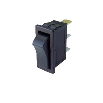 Illuminated Button Momentary Contact Rocker Switch