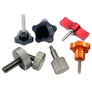 Knurled Plastic Head Thumb Screw for Adjustable Height