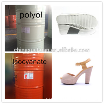 Polyol and Isocyanate for footwear sole