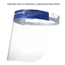 custom transparent safety face mask with shield