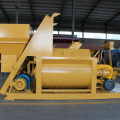 Mini twin-shaft force type concrete mixer machine