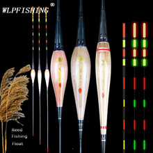 WLPFISHING Reed Fishing Floats Electric Floaters Excellent Workmanship New Design Tail Lights Fishing Tackle Bobbers Accessory