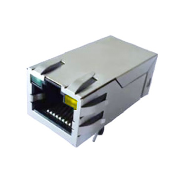 RJ45 Single  Port With Transformer