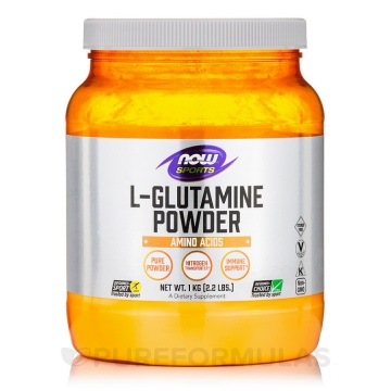 when to take l glutamine for sugar cravings