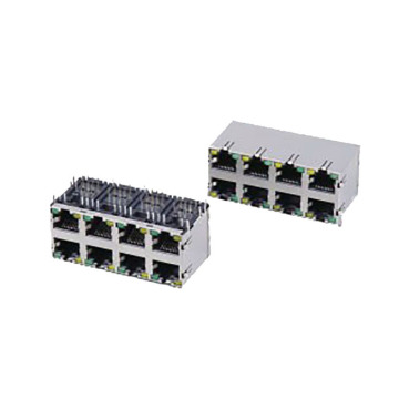 RJ45 Modular Jack 1000 base connectors
