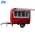 Fast Food Truck Mobile Food Trailer te koop