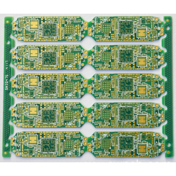 CNC+V-cut outline printed circuit boards