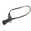 PC 3pin/2pin fans male to 5.5x2.1mm female DC Power cable 12v 9v 5v fan Route adapter convertor cord