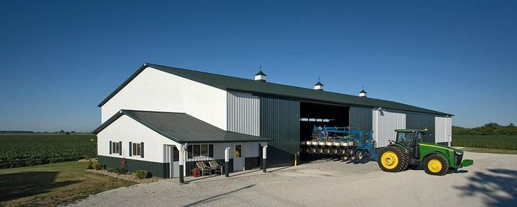 Structural Industrial Steel Buildings for Workshop
