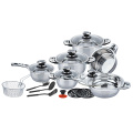 Wholesale 18pcs  wide edge cookware set