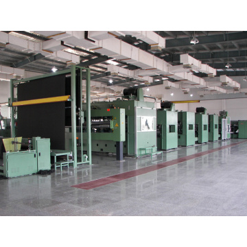Synthetic Pu Leather Substrate production line