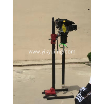 Portable backpack core geotechnical drilling machine