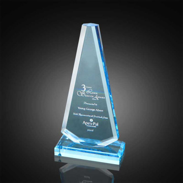 Cheap acrylic blue award for football