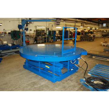 Lift platform mechanis hydraulic