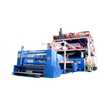 Nonwoven fabric manufacturing machine
