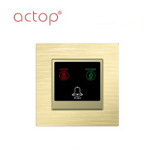 China Suppier advanced   Smart hotel door plate