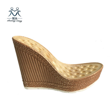 Women PU shoes Sole