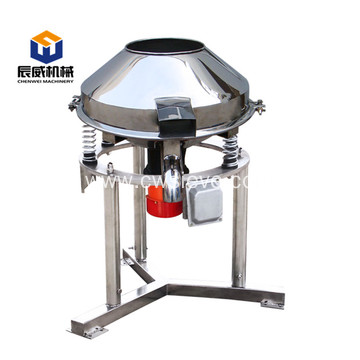 High frequency circular rotary tapioca starch vibro sifter