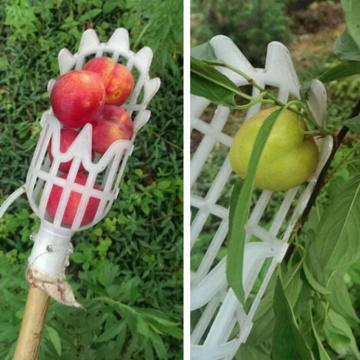 New Hot Garden Tools Fruit Picker Head Plastic Fruit Collection Tools Fruit Catcher Apple Picking Citrus Pear Fishing Hand Tools