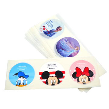 Logo printing sticker roll adhesive label sticker
