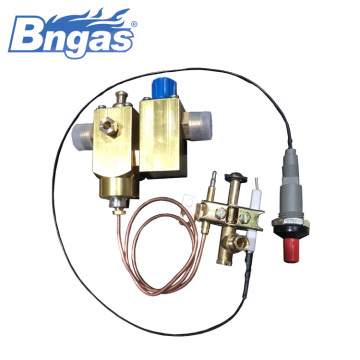 Gas cooker piezo igniter bigflowrate valve assembly