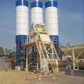 Mini belt type concrete batching plant