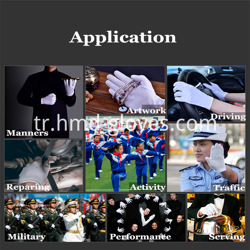 White Gloves Application