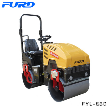 Ride on Double Steel Wheel Road Roller 1000kg