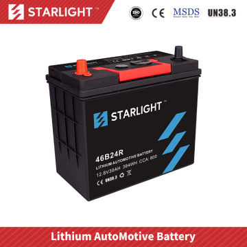 12V 46B24R Lithium Battery For Car Audio