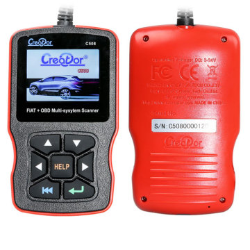 Creator OBDII Multi-System Scanner for FIAT Scan Tool
