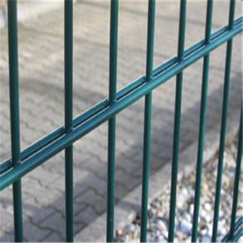 security double wire mesh fence