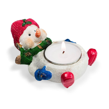 White Color Wax Tealight Candle for Christmas