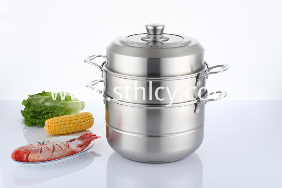 Stainless Steel Vegetable Steamer Pot