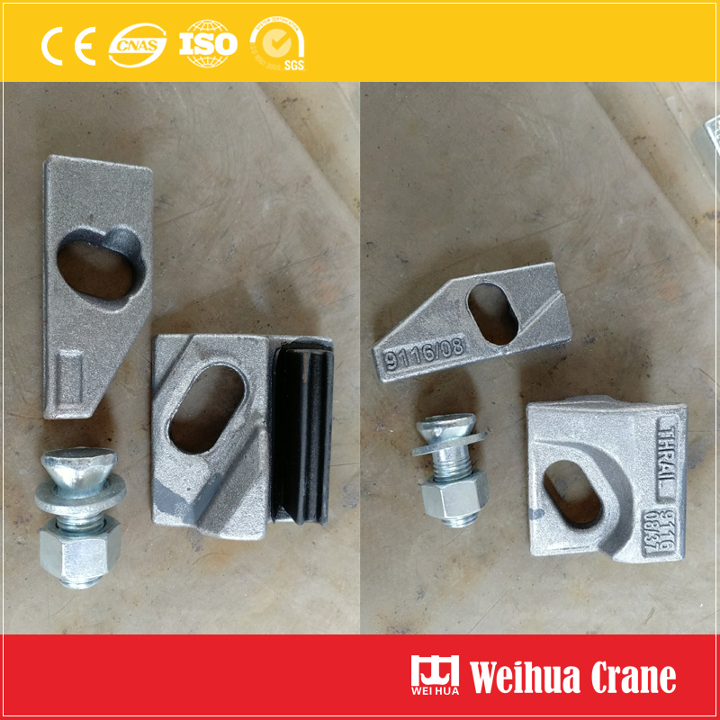 Galvanized Rail Clips