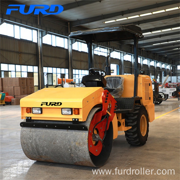 Rubber Tire Single Drum Roller for Sale