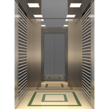 IFE Enduring Machine Roomless Elevator Lower Consumption