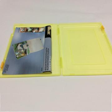 Plastic A4 file storage box