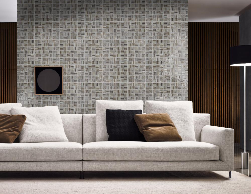 Living room sofa background wall decoration