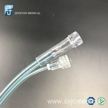 Oxygen cannula with co2 sampling LINE