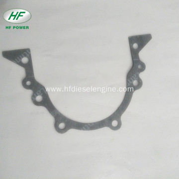 Sealing gasket crankshaft rear oil seal seat