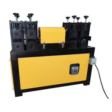 Waste rebar hydraulic straightening machine